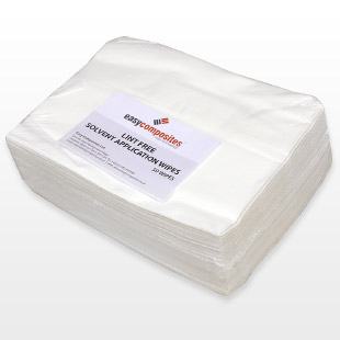 Lint Free Solvent Application Wipes