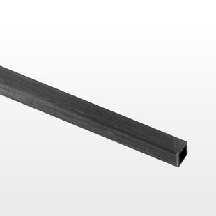 Pultruded Carbon Fibre Square Box Section 6mm (4mm) CFBOX-6-4