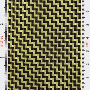 Carbon Aramid 2/2 Twill 3k 188g 1m Wide