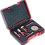 Perma-Grit Set of 4 Rotary Tools in a Case KT6